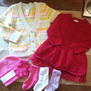 Baby Girl Sweater Bundle